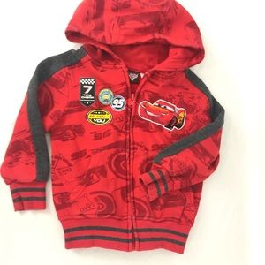 Disney cars red sweater size 3